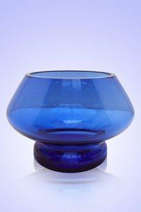 Сувенир синий Подсвечник № 2 d100.h70 мм.