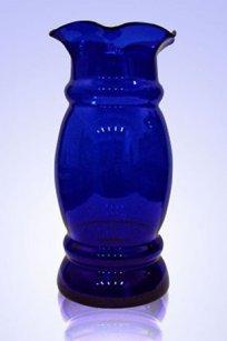 Ваза синяя С-100 h340 мм.