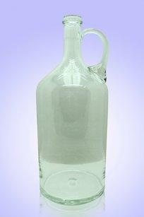Бутыль прозрачная 2л. руч. d120.h300 мм.
