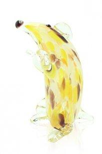 Сувенир стеклокрошка Крыса h140 мм. ЖОК