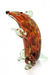 Сувенир стеклокрошка Крыса h140 мм. Кр.М
