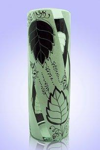 Ваза прозрачная Цилиндр d100.h300 мм. рис. № 6 (Б.Ч.)