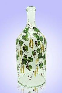 Бутыль прозрачная 2л. d120.h300 мм. рис. Бруньки