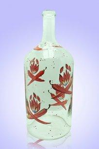 Бутыль прозрачная 2л. d120.h300 мм. рис. Перец